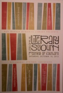 Literary Sojourn 2015 program