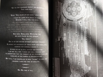 Pages from ILLUMINAE