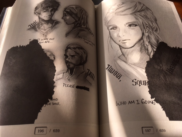 GEMINA illustrations by Marie Lu