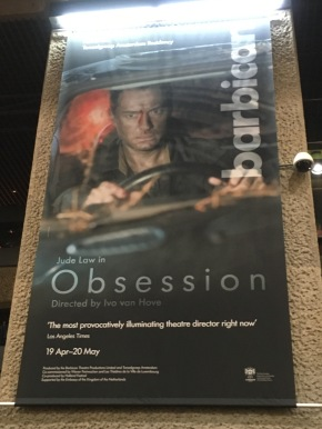 Obsession starring Jude Law