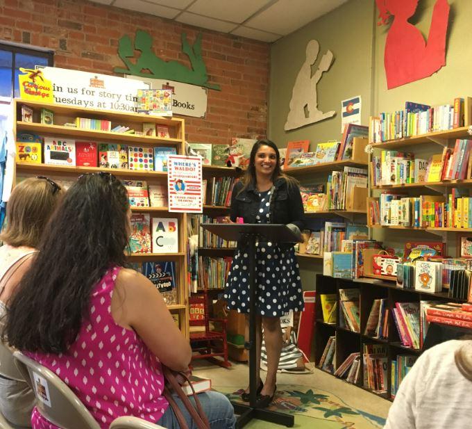 Sandhya Menon at Old Firehouse Books