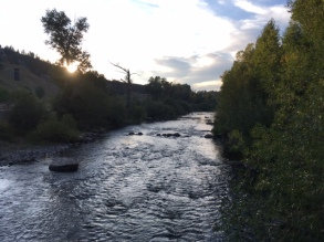 Yampa River in downtown Steamboat Springs.