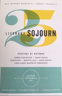 Literary Sojourn celebrated its 25th anniversary on Sept. 16 at Strings Pavilion in Steamboat Strings, Colorado