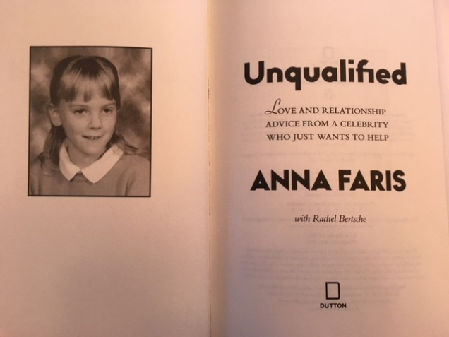 Unqualified by Anna Faris title page